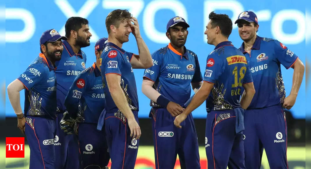mumbai indians:  'These 14 matches won't take away Mumbai Indians' glory': Rohit Sharma shares emotional post | Cricket News – Times of India