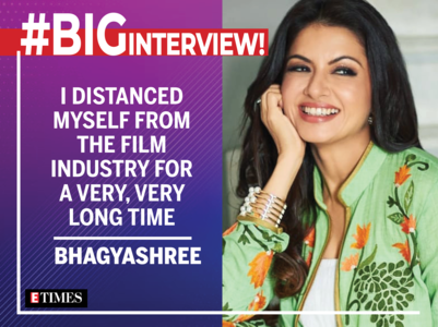 #BigInterview! Bhagyashree: After MPK, every hit film was offered to me