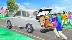 Watch Latest Children Hindi Nursery Story 'Giant Car Bull Thief' for Kids - Check out Fun Kids Nursery Rhymes And Baby Songs In Hindi