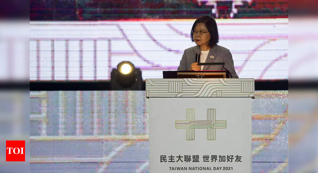 Taiwan won't be forced to bow to China, president says thumbnail