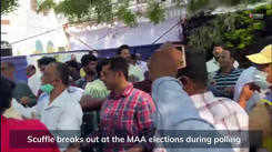 Visuals of the scuffle that broke out during MAA elections 2021