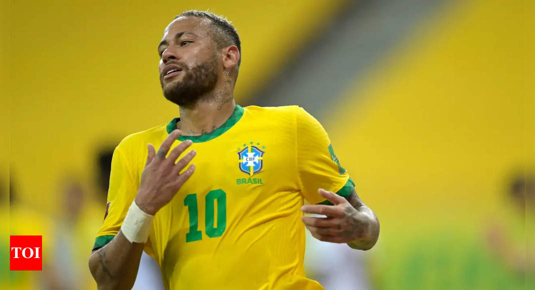 Neymar says World Cup in Qatar may be his last   Football News – Times of India