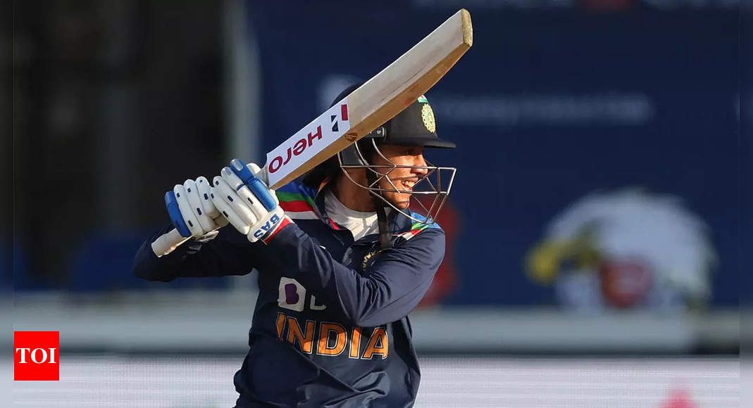 We are looking at Smriti as leader, at some point she will lead India: Powar | Cricket News – Times of India