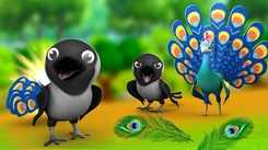 Hindi Kahaniya: Watch Dadimaa Ki Kahaniya in Hindi 'Foolish Crow Peacock's Feathers' for Kids - Check out Fun Kids Nursery Rhymes And Baby Songs In Hindi