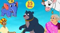 Most Popular Kids Rhymes In Hindi - Kalu Madari Aaya | Videos For Kids | Kids Cartoons | Cartoon Animation For Children
