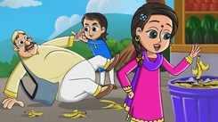 Most Popular Kids Rhymes In Hindi - Lalaji Ne Kela Khaya | Videos For Kids | Kids Cartoons | Cartoon Animation For Children