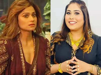 Afsana tells Shamita 'Badi hogi apne ghar mein'