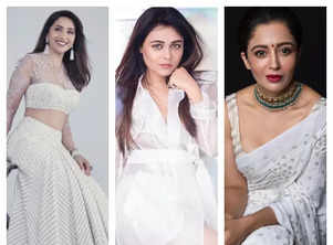 Marathi actresses look gorgeous in white
