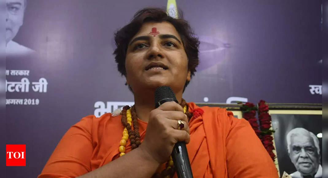Cash donated to temples going to minorities: Sadhvi Pragya