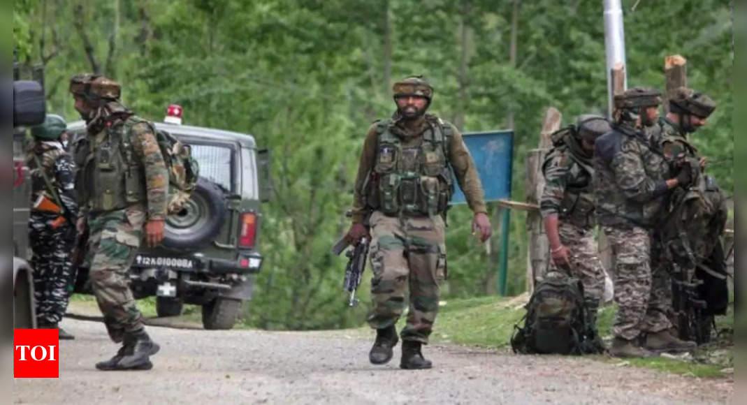 Terrorist behind Jammu-Kashmir civilian killing neutralised in encounter at Bandipora