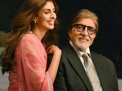 Shweta corrects Big B's age in his b'day post