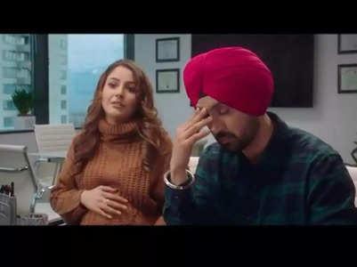 Shehnaaz & Diljit's 'Honsla Rakh' dialogue promo