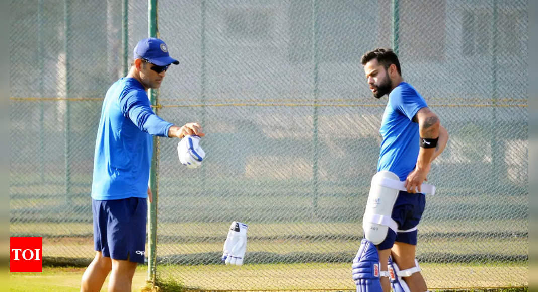 MSK Prasad: Mastermind' MS Dhoni and Virat Kohli will do wonders for India at the T20 World Cup:   Cricket News – Times of India