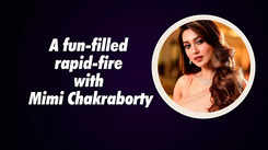 A fun-filled rapid-fire with Mimi Chakraborty