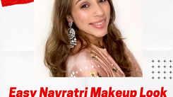 Easy Navratri makeup look