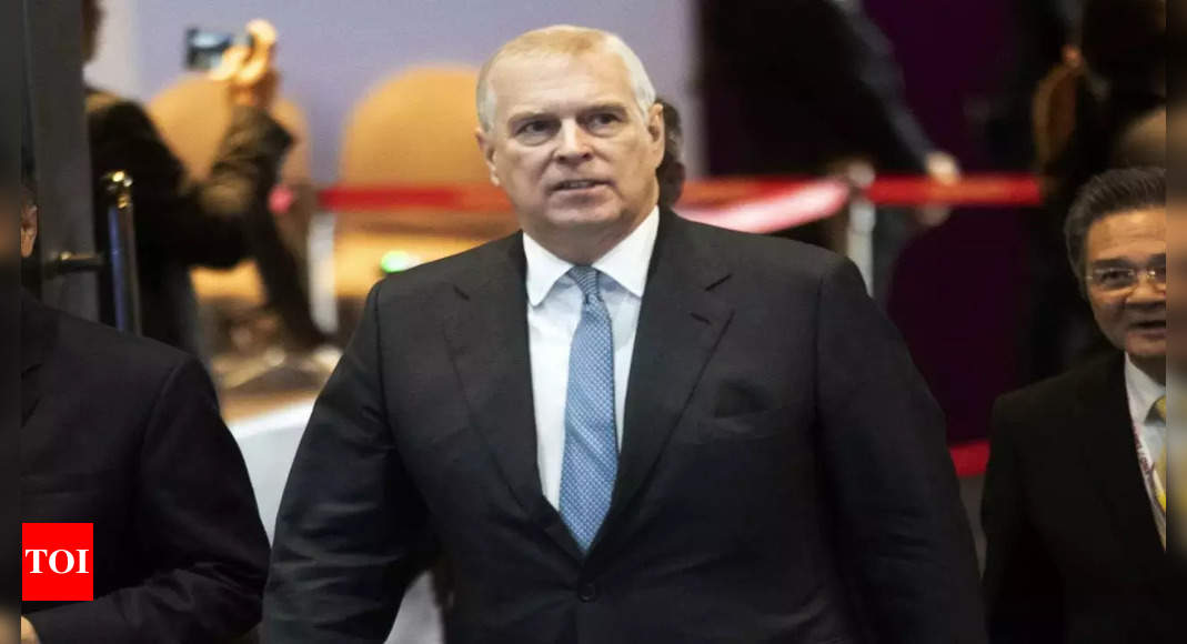 , UK police won't act against Prince Andrew over abuse claim, The World Live Breaking News Coverage & Updates IN ENGLISH