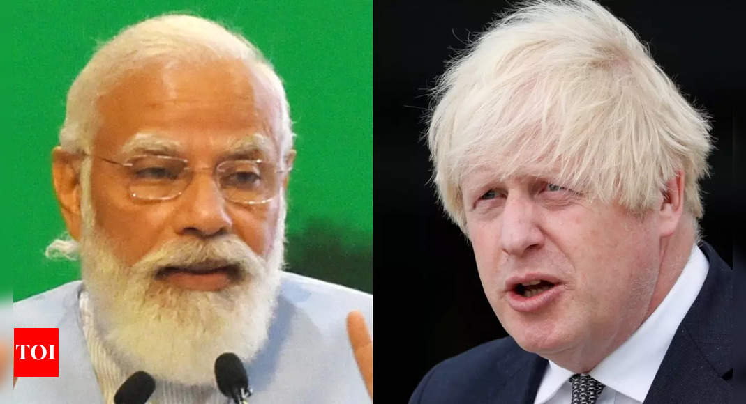 PM Modi, Johnson connect to discuss vaccine certification, trade, climate thumbnail