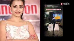 Trisha dubs for Mani Ratnam's 'Ponniyin Selvan'