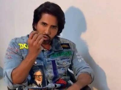 BB 15's Vishal's surprise video for Big B