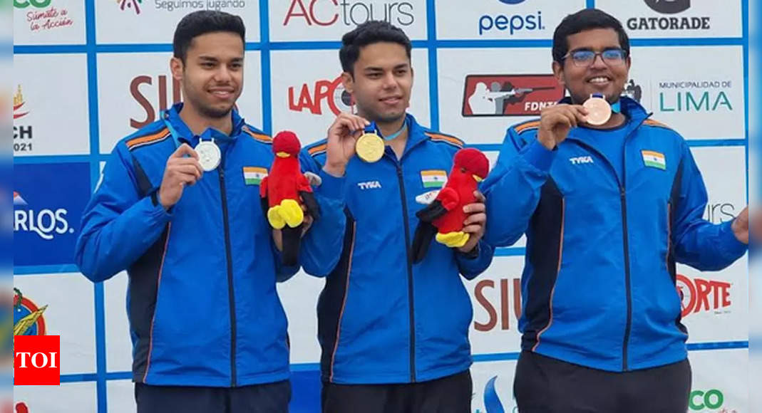 India finish on top with 43-medal haul at Junior Shooting World Championship   More sports News – Times of India