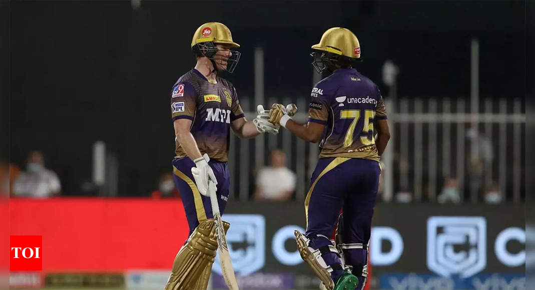 IPL 2021 Eliminator: KKR set up Qualifier 2 against DC with 4-wicket win over RCB   Cricket News – Times of India