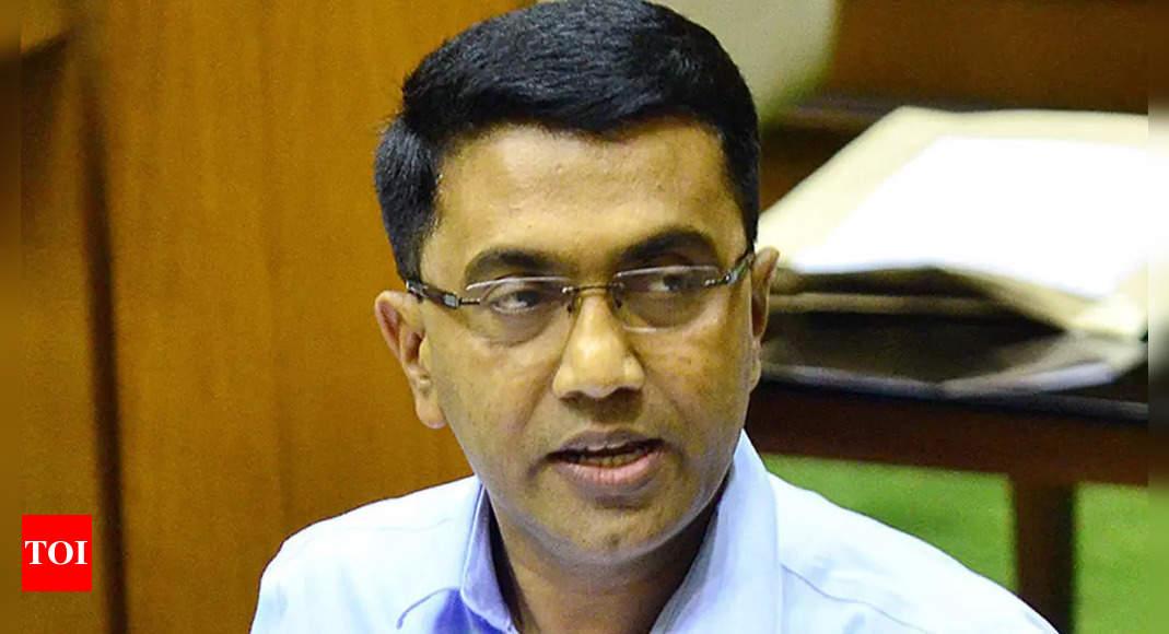 Goa withdraws 'eminent' list that had CM Pramod Sawant but not Dayanand Bandodkar