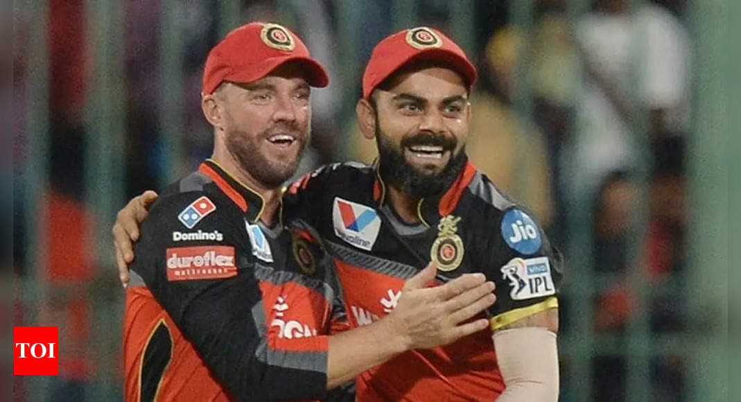'Thanks for all the memories, some umpires will sleep better': ABD's tribute to Virat Kohli | Cricket News – Times of India
