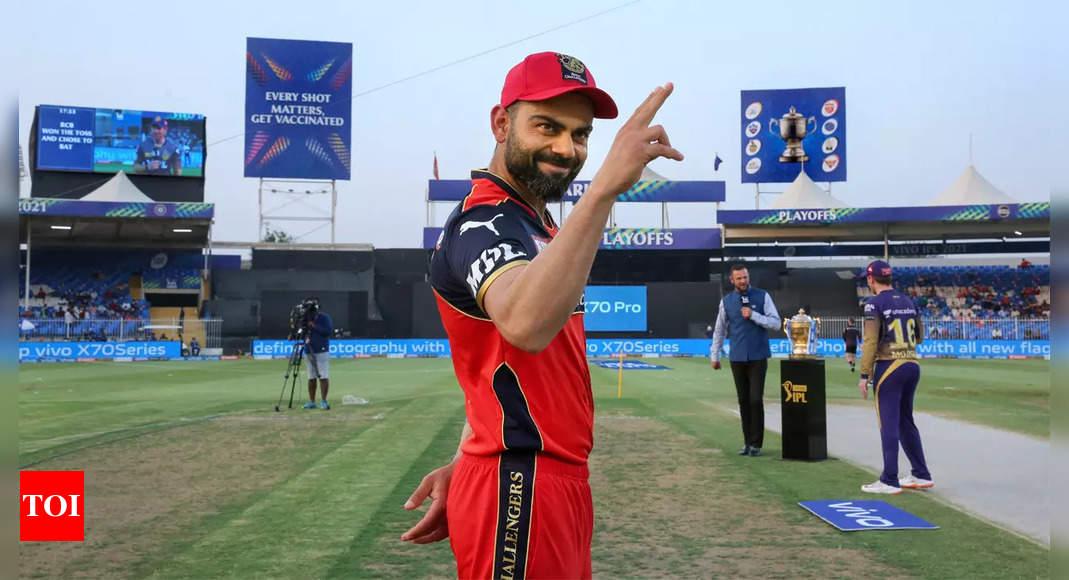 'Thank you': Virat Kohli pens a heartfelt post as RCB bow out of IPL 2021 | Cricket News – Times of India