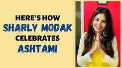 Here's how Bengali actress Sharly Modak celebrates Ashtami