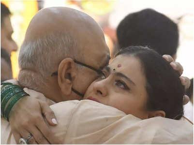 Kajol breaks down after meeting uncle