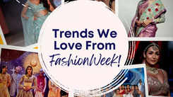 Trends we love from fashion week!