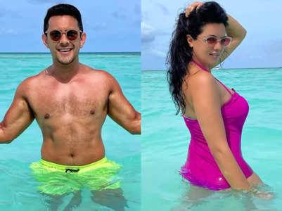 Aditya and Shweta's exotic vacation; PICS