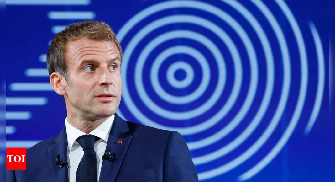 Macron announces 30-billion-euro plan to re-industrialise France