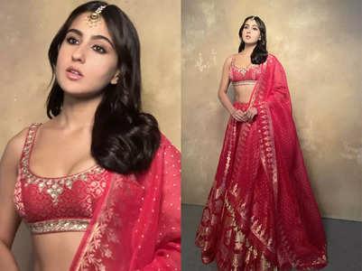 Sara Ali Khan's stunning bridal lehenga!