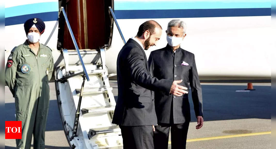 Jaishankar arrives in Armenia as part of his three-nation tour to Central Asia