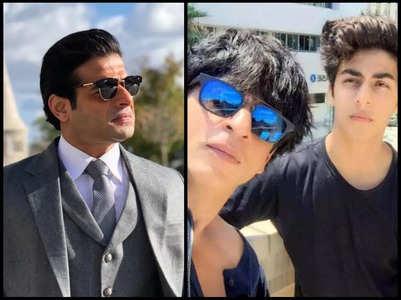Karan Patel extends support to SRK and Aryan