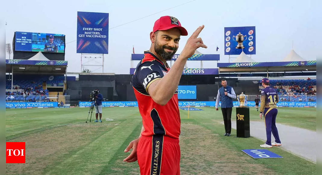 IPL 2021: Despite his best efforts, Virat Kohli's dream of lifting the IPL trophy as RCB skipper remains unfulfilled   Cricket News – Times of India