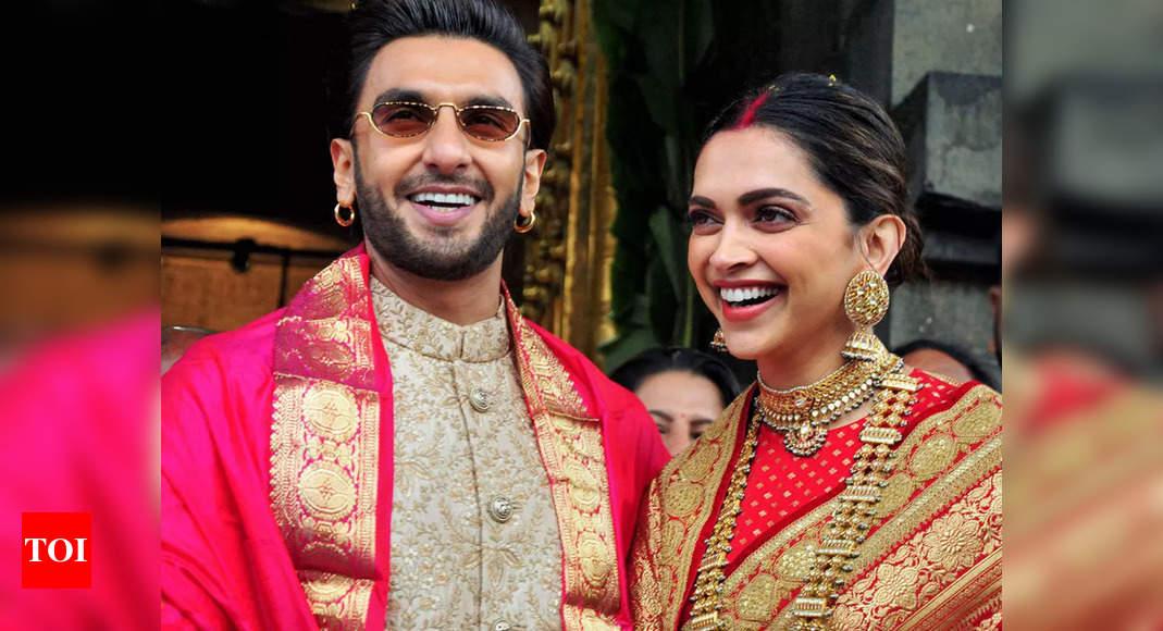 Ranveer Singh on his 1st wedding anniversary