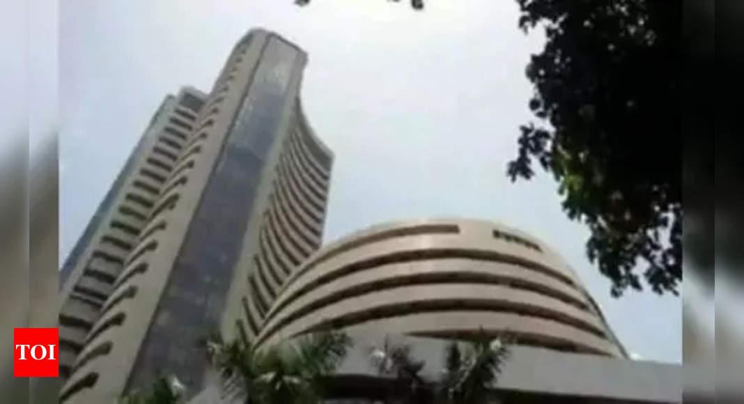 Sensex rallies over 300 points; Nifty near 18,100 level