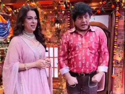 Juhi-Sudesh's hilarious reel from TKSS set