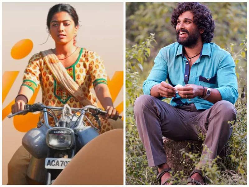 Allu Arjun as Pushpa Raj tries to woo Rashmika Mandanna's Srivalli in Pushpa: The Rise's second single
