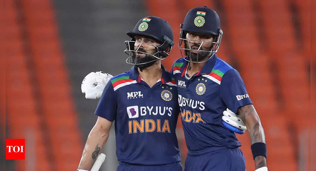 Rashid Khan picks Virat Kohli and Hardik Pandya in his top-five T20 players | Cricket News – Times of India