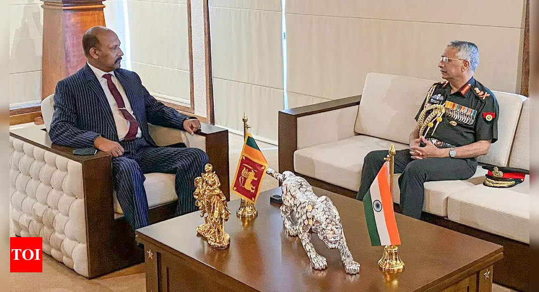 Army chief General Naravane visits Sri Lankan army headquarters, expresses interest in deepening ties