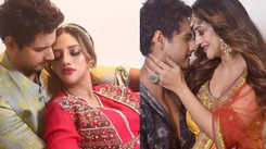 Nusrat Jahan and Yash Dasgupta's mushy pictures from Durga Puja celebration go viral on social media