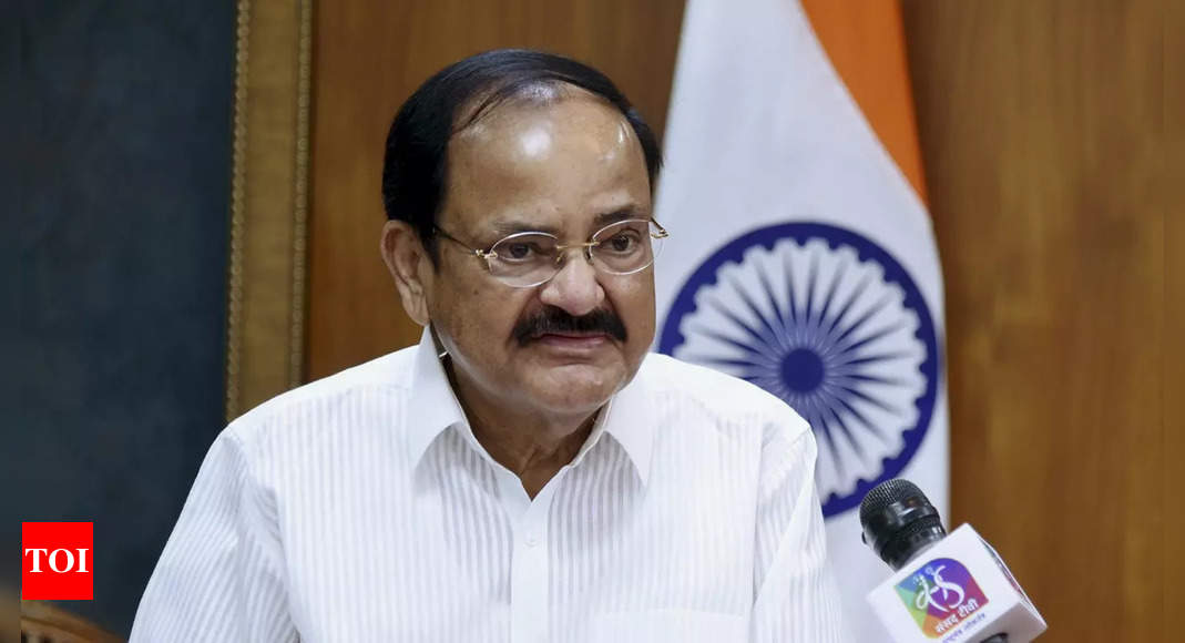 India strongly rejects China's objection to Vice President Naidu's Arunachal visit