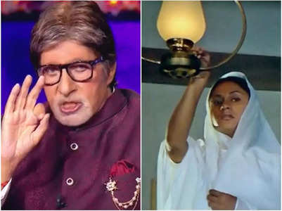 KBC 13: Big B reveals a story from Sholay