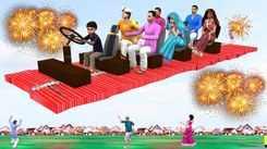 Watch Latest Children Hindi Nursery Story 'Diwali Pataka 1000 Waala Yatra' for Kids - Check out Fun Kids Nursery Rhymes And Baby Songs In Hindi