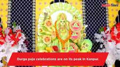 Durga puja being celebrated in Kanpur