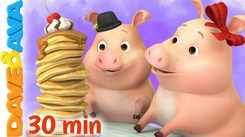 Watch Popular Kids English Nursery Song 'Mix A Pancake and Many More' for Kids - Check Out Fun Kids Nursery Rhymes And Baby Songs In English