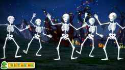 Check Out Popular Kids English Nursery Song 'Five Creepy Skeletons   Trick Or Treat and Many More' for Kids - Watch Fun Kids Nursery Rhymes And Baby Songs In English